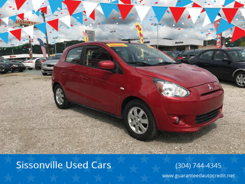 2014 Mitsubishi Mirage for sale at Sissonville Used Cars in Charleston WV