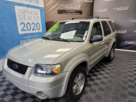 2005 Ford Escape for sale at X Drive Auto Sales Inc. in Dearborn Heights MI