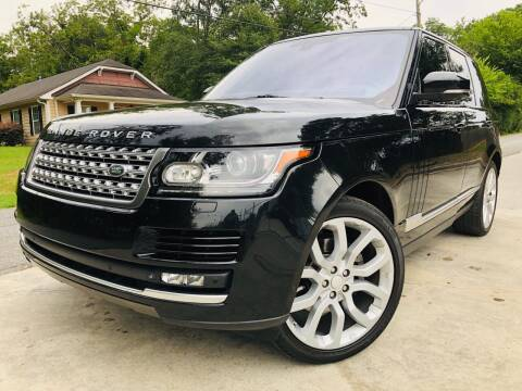 2014 Land Rover Range Rover for sale at Cobb Luxury Cars in Marietta GA