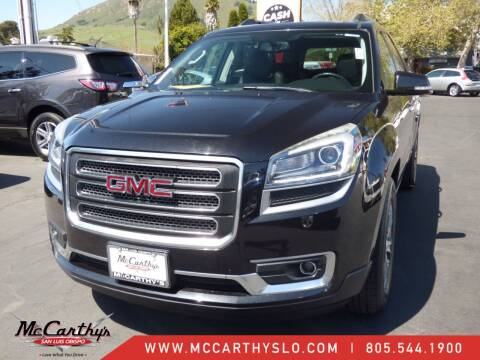 2013 GMC Acadia for sale at McCarthy Wholesale in San Luis Obispo CA