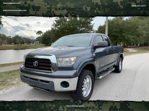 2008 Toyota Tundra for sale at Terra Motors LLC in Jacksonville FL