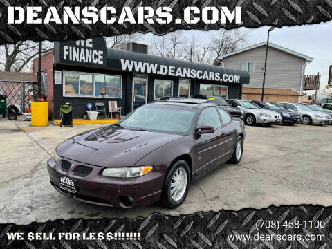 2002 Pontiac Grand Prix for sale at DEANSCARS.COM in Bridgeview IL