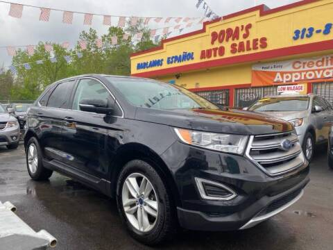 2017 Ford Edge for sale at Popas Auto Sales in Detroit MI