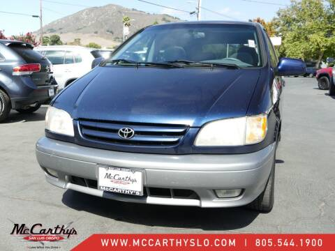 2001 Toyota Sienna for sale at McCarthy Wholesale in San Luis Obispo CA