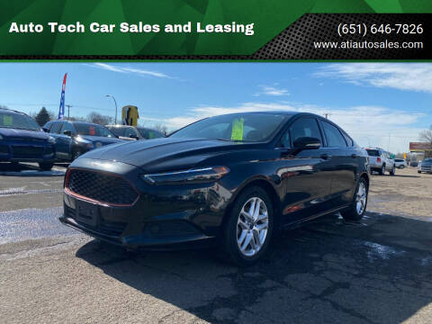 2013 Ford Fusion for sale at Auto Tech Car Sales and Leasing in Saint Paul MN