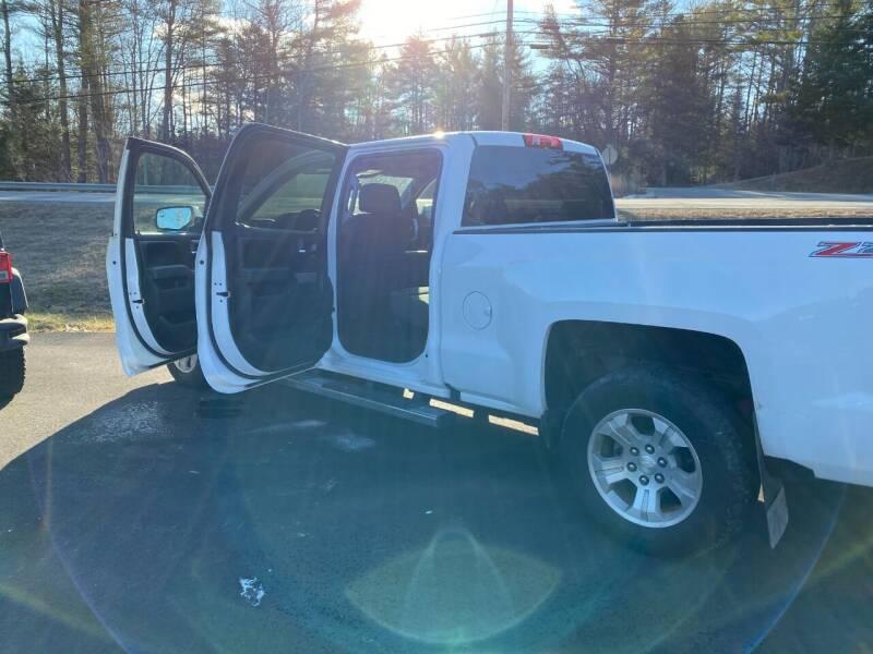 2017 Chevrolet Silverado 1500 for sale at Mascoma Auto INC in Canaan NH
