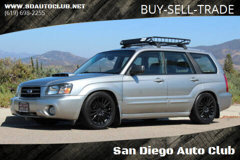 2005 Subaru Forester for sale at San Diego Auto Club in Spring Valley CA