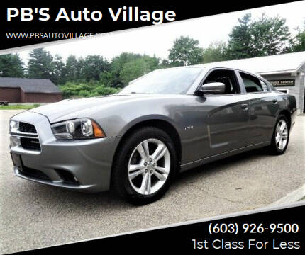 2011 Dodge Charger for sale at PB'S Auto Village in Hampton Falls NH