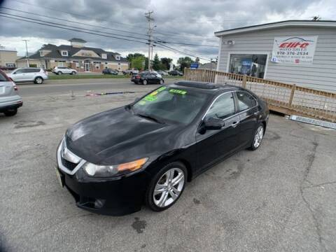 2010 Acura TSX for sale at ELITE AUTO SALES, INC in Methuen MA