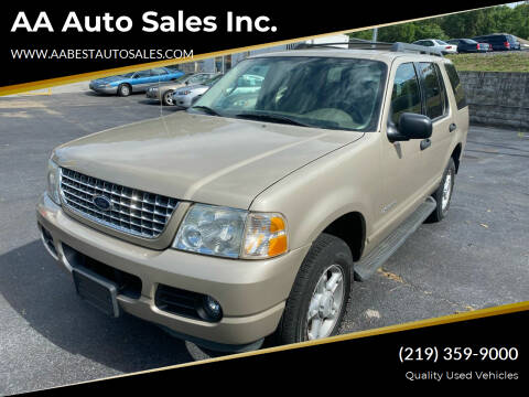 2005 Ford Explorer for sale at AA Auto Sales Inc. in Gary IN