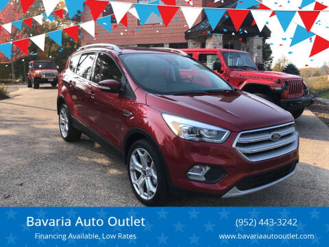 2019 Ford Escape for sale at Bavaria Auto Outlet in Victoria MN