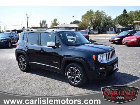 2016 Jeep Renegade for sale at Carlisle Motors in Lubbock TX