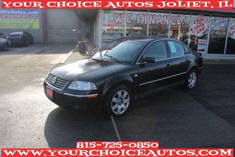 2003 Volkswagen Passat for sale at Your Choice Autos - Joliet in Joliet IL