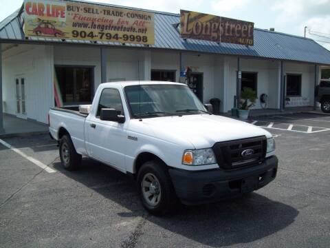 2011 Ford Ranger for sale at LONGSTREET AUTO in Saint Augustine FL