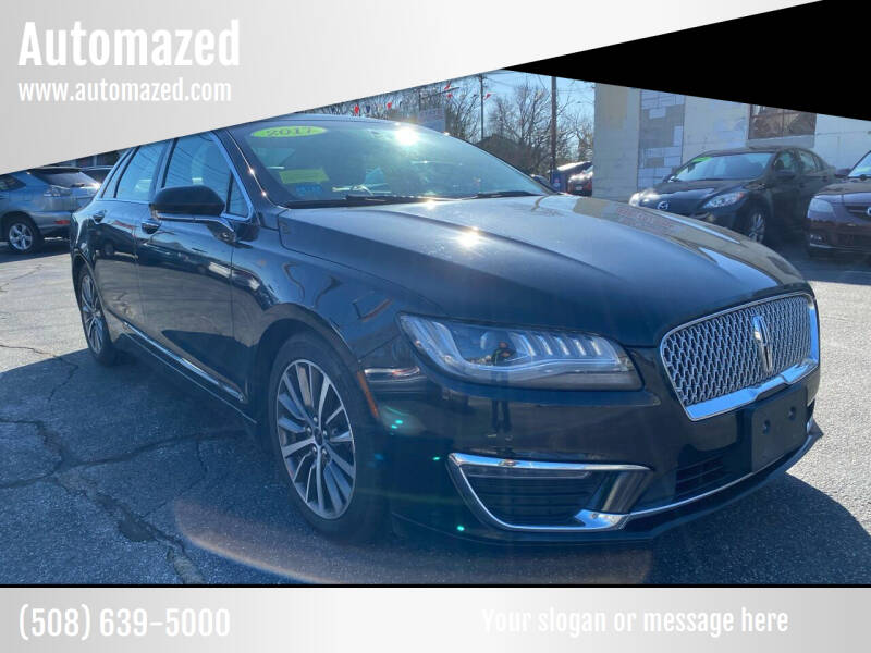 2017 Lincoln MKZ for sale at Automazed in Attleboro MA