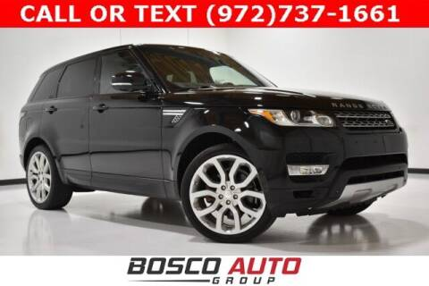 2014 Land Rover Range Rover Sport for sale at Bosco Auto Group in Flower Mound TX