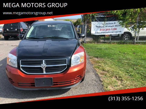 2007 Dodge Caliber for sale at MEGA MOTORS GROUP in Redford MI