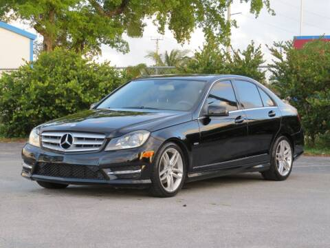 2012 Mercedes-Benz C-Class for sale at DK Auto Sales in Hollywood FL