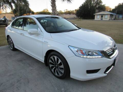 2015 Honda Accord Hybrid for sale at D & R Auto Brokers in Ridgeland SC