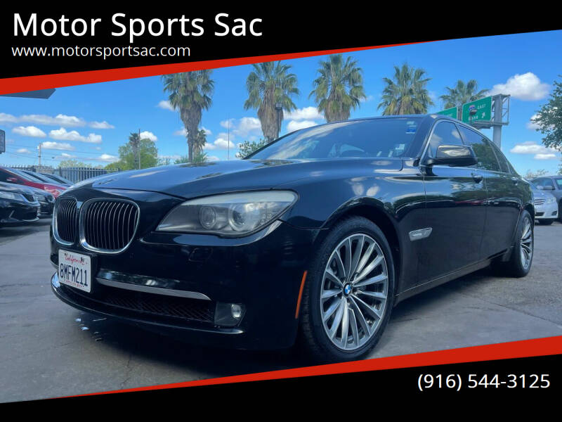 2011 BMW 7 Series for sale at Motor Sports Sac in Sacramento CA