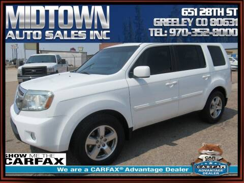 2011 Honda Pilot for sale at MIDTOWN AUTO SALES INC in Greeley CO