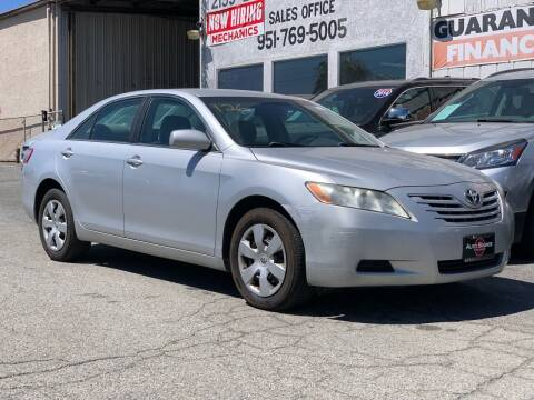 2008 Toyota Camry for sale at Auto Source in Banning CA