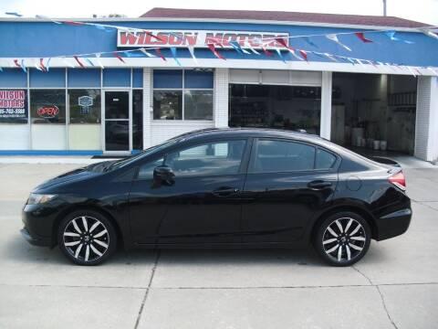 2015 Honda Civic for sale at Wilson Motors in Junction City KS