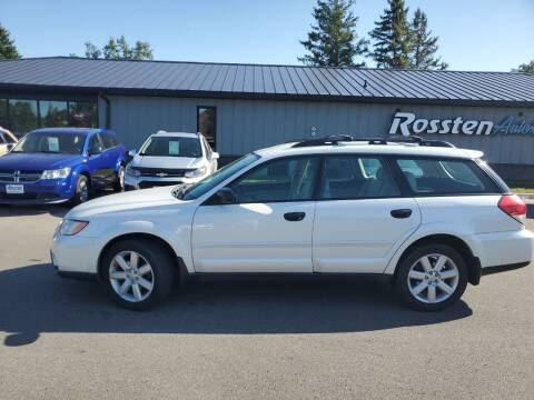 2008 Subaru Outback for sale at ROSSTEN AUTO SALES in Grand Forks ND