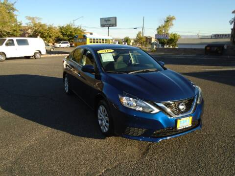 2016 Nissan Sentra for sale at Team D Auto Sales in St George UT
