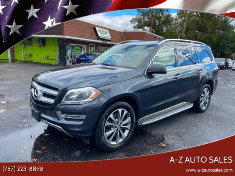 2015 Mercedes-Benz GL-Class for sale at A-Z Auto Sales in Newport News VA
