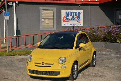 2013 FIAT 500 for sale at Motor Car Concepts II - Kirkman Location in Orlando FL
