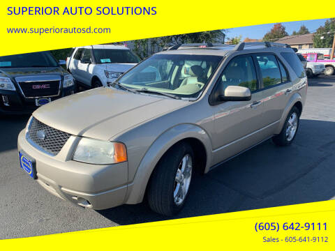 2006 Ford Freestyle for sale at SUPERIOR AUTO SOLUTIONS in Spearfish SD