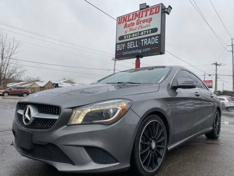 2014 Mercedes-Benz CLA for sale at Unlimited Auto Group in West Chester OH