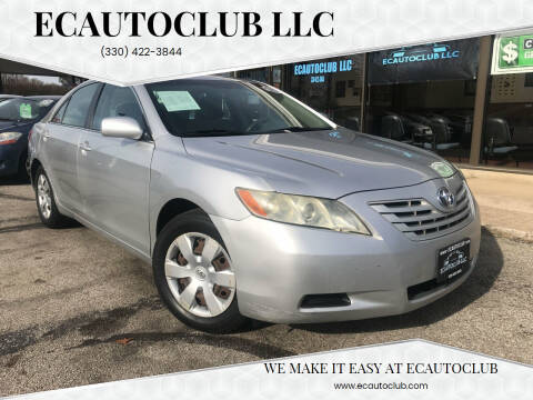 2008 Toyota Camry for sale at ECAUTOCLUB LLC in Kent OH