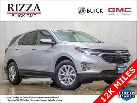 2019 Chevrolet Equinox for sale at Rizza Buick GMC Cadillac in Tinley Park IL