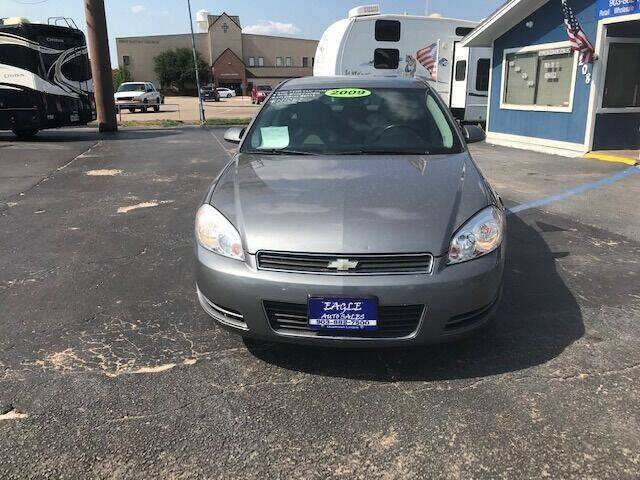 2009 Chevrolet Impala for sale at EAGLE AUTO SALES in Lindale TX