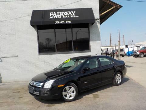 2008 Ford Fusion for sale at FAIRWAY AUTO SALES, INC. in Melrose Park IL