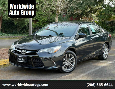 2015 Toyota Camry for sale at Worldwide Auto Group in Auburn WA