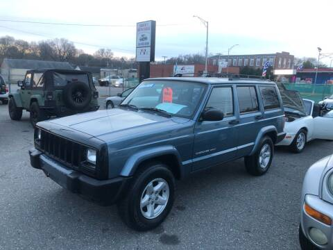 1999 Jeep Cherokee for sale at LINDER'S AUTO SALES in Gastonia NC