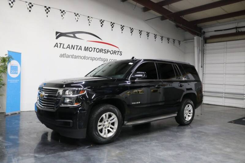 2015 Chevrolet Tahoe for sale at Atlanta Motorsports in Roswell GA