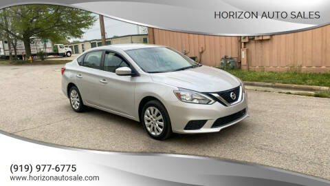 2018 Nissan Sentra for sale at Horizon Auto Sales in Raleigh NC
