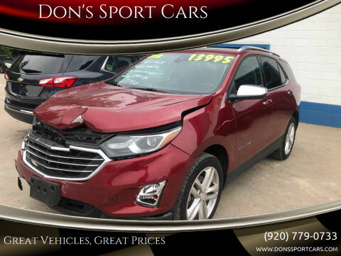2018 Chevrolet Equinox for sale at Don's Sport Cars in Hortonville WI