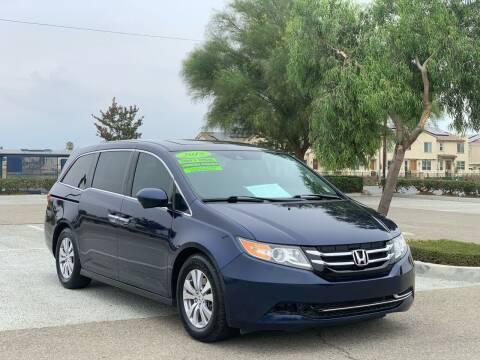 2015 Honda Odyssey for sale at Esquivel Auto Depot in Rialto CA