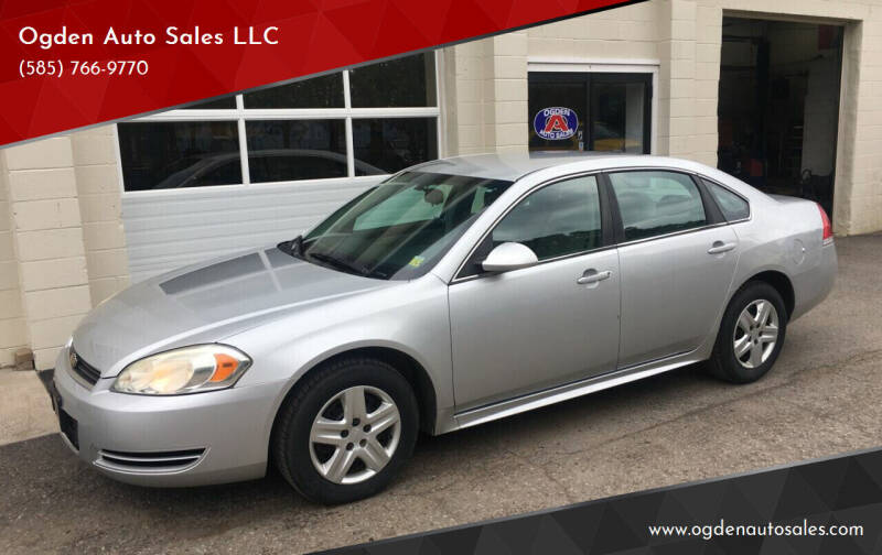 2010 Chevrolet Impala for sale at Ogden Auto Sales LLC in Spencerport NY