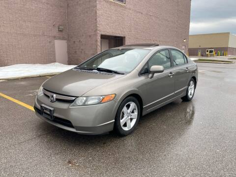 2007 Honda Civic for sale at JE Autoworks LLC in Willoughby OH