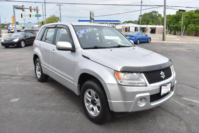 2008 Suzuki Grand Vitara for sale at World Class Motors in Rockford IL