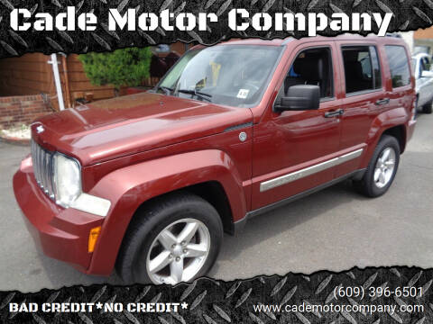 2009 Jeep Liberty for sale at Cade Motor Company in Lawrenceville NJ