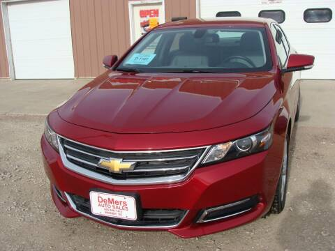 2019 Chevrolet Impala for sale at DeMers Auto Sales in Winner SD