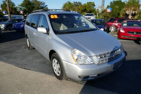 2008 Kia Sedona for sale at J Linn Motors in Clearwater FL