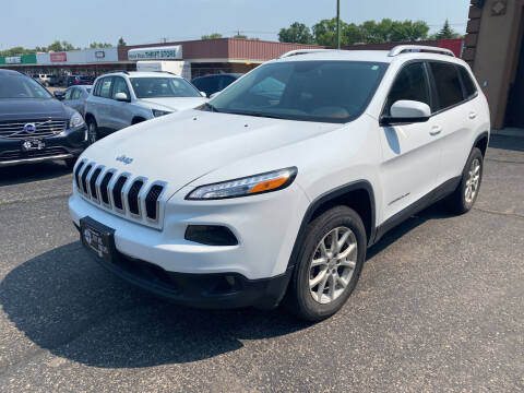 2017 Jeep Cherokee for sale at Atlas Auto in Grand Forks ND